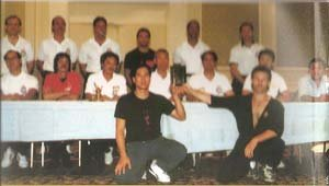 Sifu Kenneth Cheung, Sifu Hawkins Cheung, Sifu Wong Shun Leung, Sifu Tsui Shong Ting, Sifu Leung Ting, Sifu Jason lau, and Sifu Augustine Fong 1991
