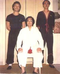 Alex Wallenwein, GM Leung Ting & Robert Jacquet